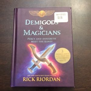 Other - Demigods & Magicians by Rick Riordan.   Hardcover